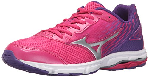 Mizuno Wave Rider 19 Zapatilla de Running Junior (Poco Kid/Big Kid)