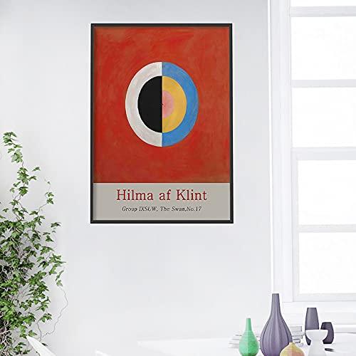 Hilma af Klintcomposición cuadros decoracionlienzos decorativos cuadros decoracion dormitorios decoración pared lienzos decorativo 30x40cm 12 'x16' Sin marco