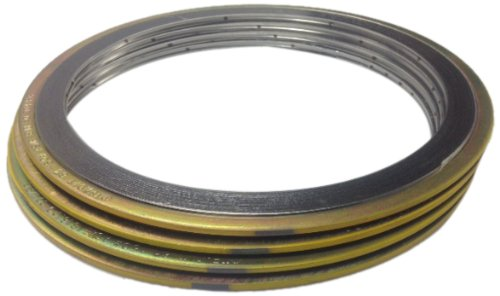 Teadit 900018600GR300 Spiral Wound Gasket #300 Class Flange for Applications with High Temperature Variations Thermal Cycling 18 Pipe Size Assigned by Sur-Seal Sur-Seal Inc Inconel 600 Flexible Graphite 18 Pipe Size