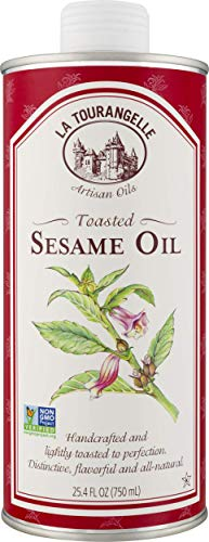 La Tourangelle, Toasted Sesame Oil, 25.4 Ounce (Packaging May Vary)