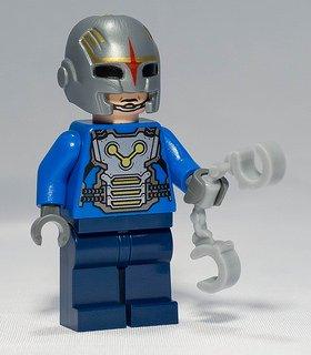 LEGO Guardianes de la Galaxia NOVA COP Oficial Minifigura de 76019 Set (Embolsado)