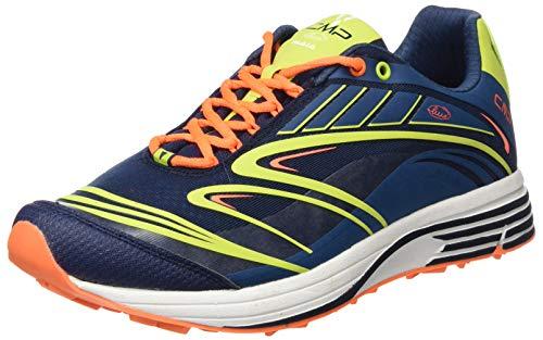 CMP – F.lli Campagnolo Maia Shoes, Scarpe da Trail Running Uomo, Multicolore Plutone Energy 15ne, 40 EU