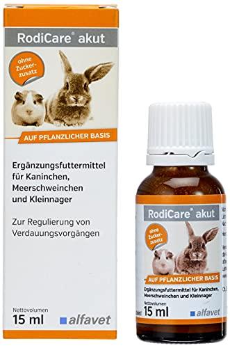 RodiCare akut 15 ml- Zur Regulierung von Verdauungsvorgängen bei nagern und Kaninchen