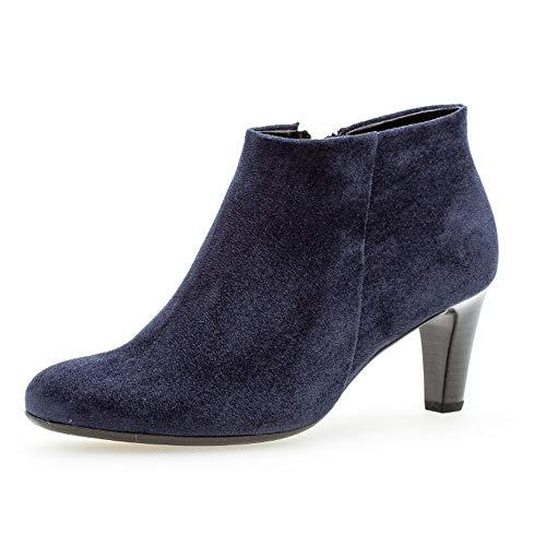 Gabor Damen Elegante Stiefeletten, Frauen Stiefeletten,Ankle Boots, Stiefel halbstiefel Bootie knöchelhoch reißverschluss,River,38.5 EU / 5.5 UK
