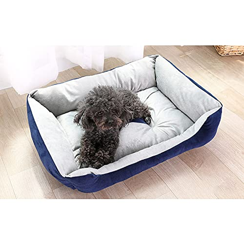 KSSTOO Cama para Perros y Gatos Mascota Cachorro Grande y pequeño autocalentamiento hogar Comodidad de Invierno, portátil, cómodo y Lavable