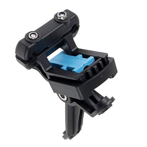 Tacx Unisex-Adult T7600 Cage Mouunt Carbon Flaschenhalteradapter zur Sattelbefestigung, Mehrfarbig, One Size, Einheitsgröße