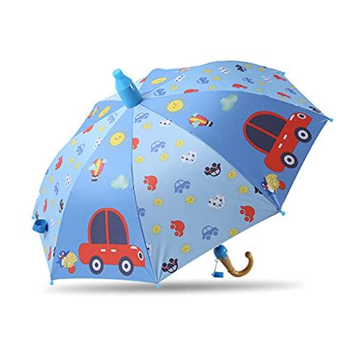 Paraguas Niños Preciosa Lluvia Sombrillas C Oon Paraguas Niños Rainbow Paraguas Semi Automático, D