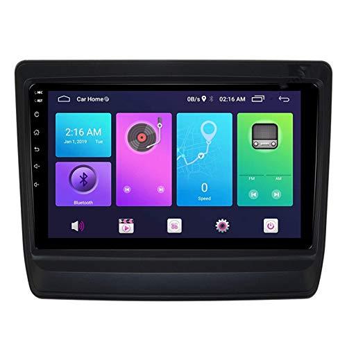 Nav Android 9.0 Car Stereo Unidad principal de doble Din Compatible Isuzu D-Max 2019-2020 Navegación GPS 9 pulgadas MP5 Reproductor multimedia Radio Video Receptor Rastreador 4G WIFI DSP Mirrorlink C