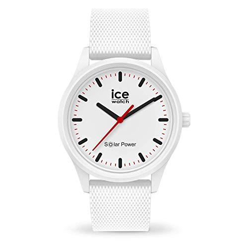Ice-Watch - ICE solar power Polar Mesh - Reloj para Hombre (Unisex) con Correa de silicona - 018390 (Medium)