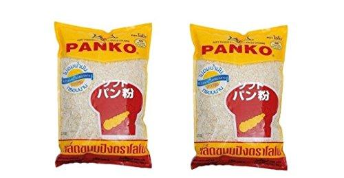 Pamai Pai® Doppelpack: 2 x 1kg Panko Paniermehl Panade Tempura Japan Mehl Brotkrumen