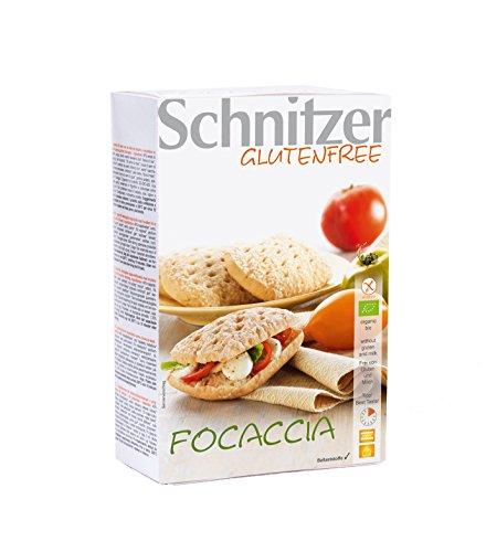 Schnitzer Bio Focaccia, glutenfrei, 6er Pack (6 x 220 g)