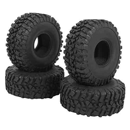 Neumático de Coche de Oruga RC, Alta Resistencia al Desgaste, excelente Durabilidad, para Traxxas/Tamiya/Hpi/Axial Scx10 D90, Uso de Coche de Marca para Redcat