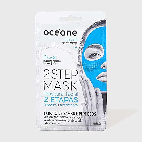 Máscara Facial 2 Etapas Dual-Step Mask Bambu, Océane, Branco