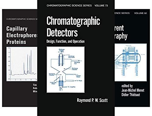 Chromatographic Science (41 Book Series)