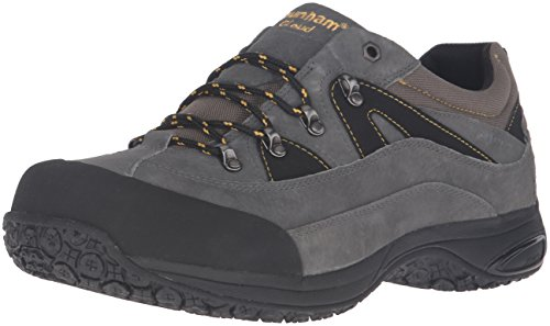 Dunham Men's Cloud Low Waterproof Oxford,Grey,13 2E US