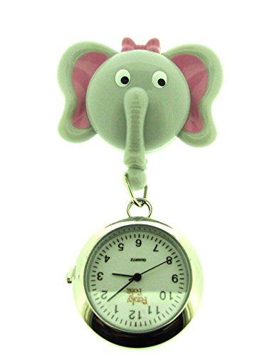 Ausziehbare Taschenuhr mit Elefanten-Design