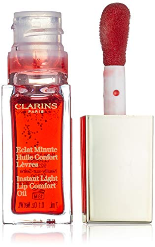 Clarins Eclat minute huile confort lèvres 03-red berry 7 ml 1 Unidad 700 g