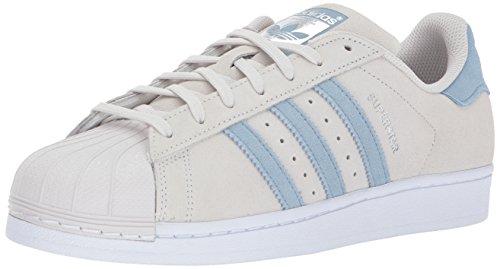 Adidas Originals Superstar, Zapatillas para Correr Hombre, Pearl Grey Tactile Azul Táctil, 40 2/3 EU
