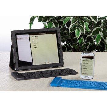 Hama Nimble Flexible Bluetooth®-Tastatur für Apple iPad, iPhone, iPod,, 53802