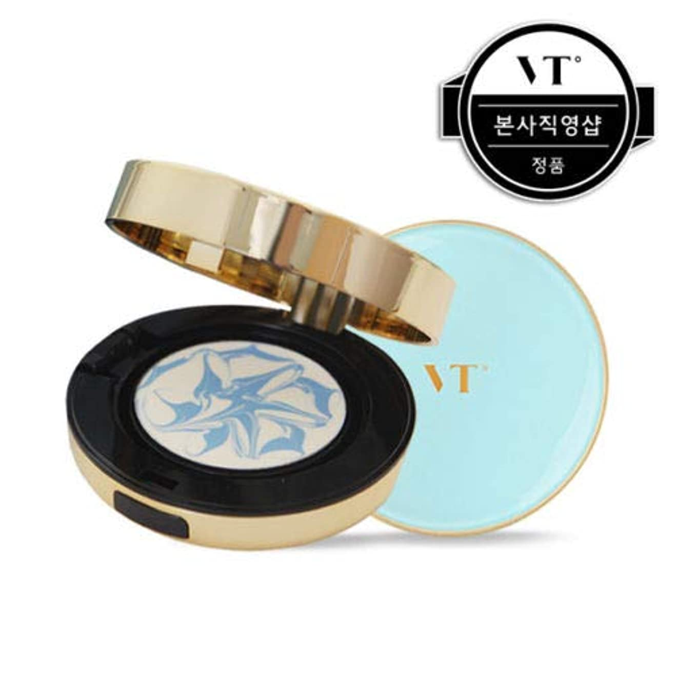 真空スピーチみすぼらしいVT Cosmetic Essence Sun Pact エッセンス サン パクト 本品11g + リフィール 11g, SPF50+/PA+++