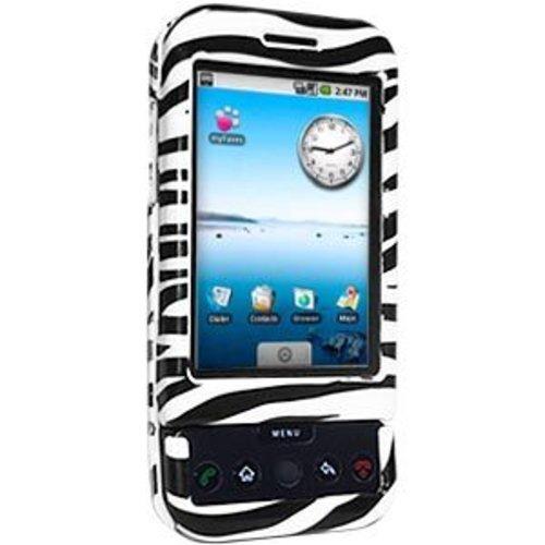 Amzer Hartschalen-Schutzhülle für HTC Dream G1, zum Aufstecken, Zebradruck