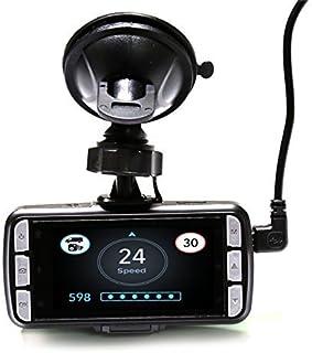 DriveSmart Pro HD GPS Fijo & MÓVIL CÁMARA DE VELOCIDAD Detector con incorporado Cámara SALPICADERO