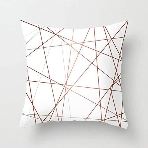 Ving Scandinavische kussenhoes Decoratieve geometrische kussens Covers Bank Kussensloop, zoals foto, 45x45 kussensloop