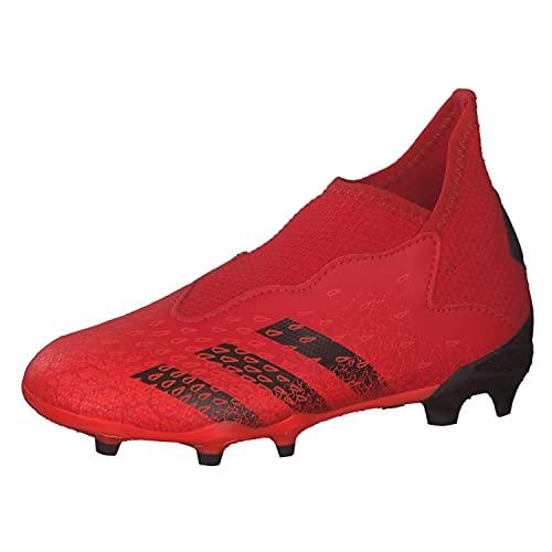 adidas Predator Freak .3 LL FG J, Scarpe da Ginnastica, Rosso (Negbás Rojsol), 30 EU