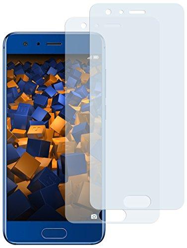 mumbi Schutzfolie kompatibel mit Huawei Honor 9 Folie klar, Displayschutzfolie (2X)