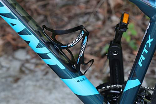 ZONKIE Flaschenhalter Fahrrad, leicht und stark Flaschenhalter, schnell und einfach zu montieren, Sehr gut geeignet Road, Mountain, Hybrid, Touring & Electric Fahrräder 30g - 3
