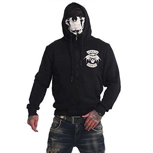 Yakuza Herren 893MC Ninja Zip Hoodie Kapuzenjacke