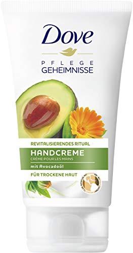 Dove Pflegegeheimnisse Revitalisierendes Ritual mit Avocadoöl 75 ml, Handcreme, 6er Pack (6 x 75 ml)