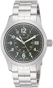 Hamilton Khaki Field Green Dial Stainless Steel Men's Watch