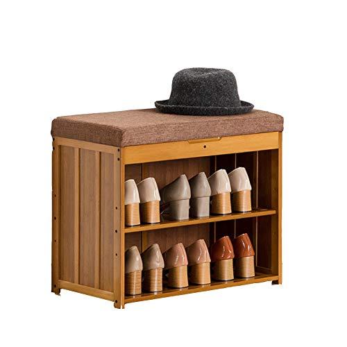 HENDA Taburete para Cambiar Zapatos, Espacio De Almacenamiento Oculto 4 Especificaciones Utilizadas para La Entrada del Pasillo del Dormitorio De La Sala De Estar 48 * 30 * 60cm