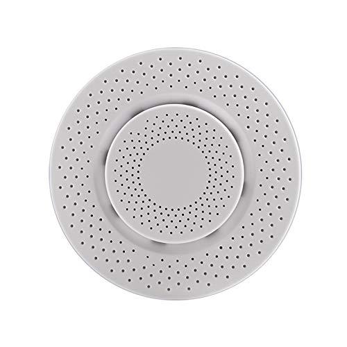 MOZUN Caja inteligente de detección de calidad del aire con WiFi, detector de formaldehído/Voc/dióxido de carbono, monitor de temperatura y humedad, para habitación de bebé