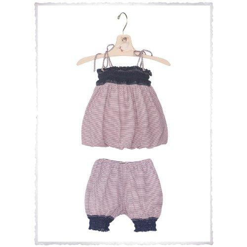 Luna Luna Copenhagen - Ensemble de pyjama - Bébé (fille) 0 à 24 mois - rose - (6-12M) UK