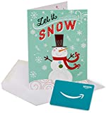 Amazon.com Gift Card in a Happy Sowman Greeting Card