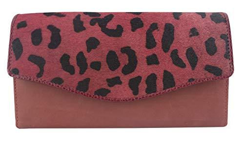 Sunsa Geldbörse für Damen großer Leder Geldbeutel Portemonnaie mit RFID Schutz Brieftasche mit viele Kreditkarten Fächer Geldtasche Wallet Purses for Women das Beste Gift kleine Geschenk