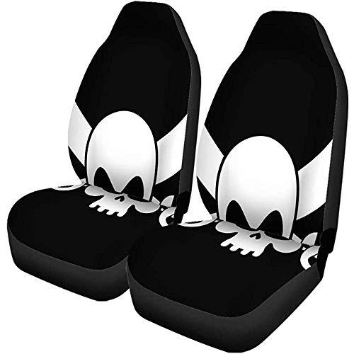 Autostoelhoezen Adventure Pirate Flag Skull Black Filibuster Head Skeleton Pirates Auto Accessoires Universal