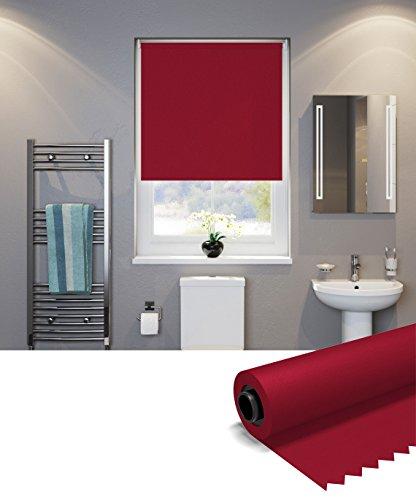 Speedy UV Thermique Store Enrouleur occultant uni, Rouge foncé, 60 x d190 cm