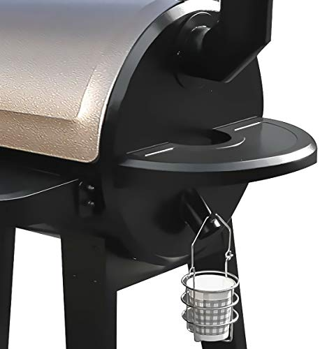 z grill Upgrade Wood Pellet Grills Smoker 7-in-1 Digital Controls Smart Grills Outdoors BBQ Pellet Grills, 450 Sq.in ZPG-450A Smokers