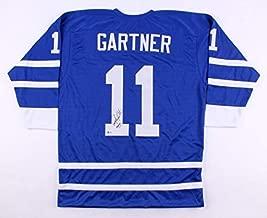 Mike Gartner Autographed Signed Maple Leafs Jersey Inscribed Hof 01Beckett 700 Nhl Goals