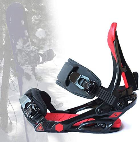 VULID Snowboard-Bindungen für Männer & Frauen, Snowboard-Halter mit Aluminiumlegierung Heel und Eva-Pad, Winter-Ski-Ausrüstung (Size : M(37~41))