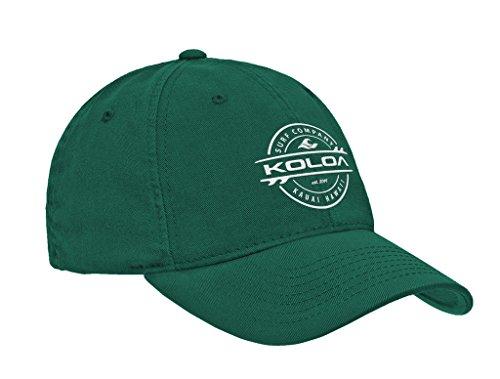Koloa Surf Thruster Logo Classic Cotton Dad Hat-Kelly/w