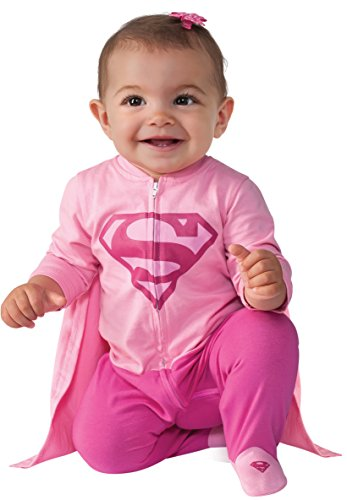 Rubie's Baby Girl's DC Comics Superhero Style Baby Supergirl Costume, Multi, 6-12 Months - coolthings.us