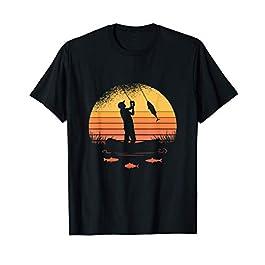 Pêcheur Pêcheur Pêcheur Carpe Canne à pêche Brochet Leurre T-Shirt