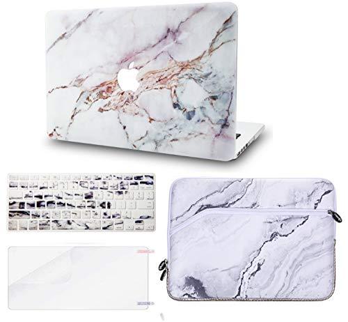 "Purple Flower Dura Case w// Keyboard Cover MacBook Air 13.3 Ultra Delgado Pl/ástico {A1932} KECC MacBOok Air 13/"" Retina Funda 2019//2018, Touch ID"