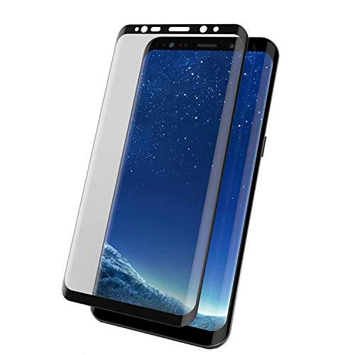 Todotumovil Protector de Pantalla Samsung Galaxy S9 Plus Negro Completo 3D Cristal Templado Vidrio Curvo para movil