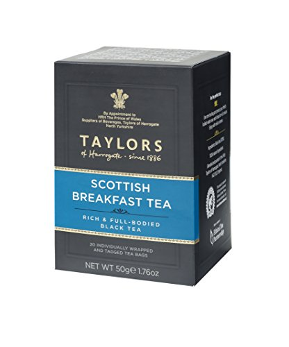 Taylors of Harrogate Scottish Breakfast Tea 20 Teabags