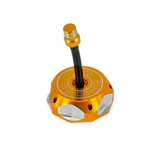 JFG Racing CNC Tapa para depósito de Gas con Manguera de ventilación para XR/CRF 50 Estilo y Clone China Dirt Pit Bike